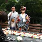 堅田店スタッフ上原さんと今津店スタッフ谷さんの結婚式