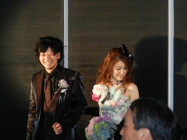 スタイリスト同士の結婚式